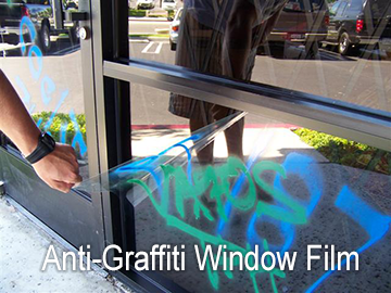 anti-gaffiti film